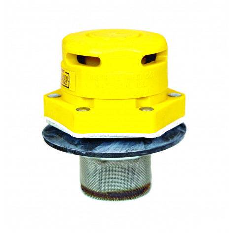 "Polyethylene Vertical Drum Vent For Petroleum Based Applications, Flame Arrester, 2"" Bung"