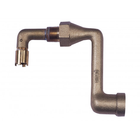 Brass Drum Siphon Adapter No. 08311 For Draining 30 And 55 Gallon Drums