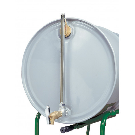 Cast-Iron Horizontal Fill Drum Gauge