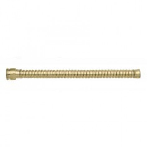 "Flexible Hose Extension For Drum Faucet, 8"" Long, Brass"