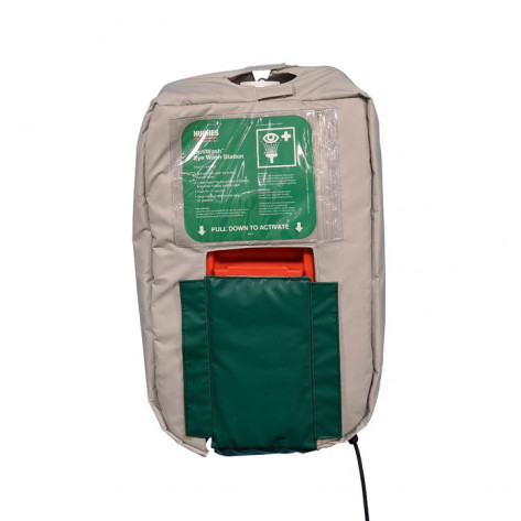 10-Gallon Gravity Fed Eyewash Heated Jacket 120V Plug