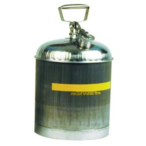 5 GAL Stainless Steel w/Teflon Cap Gasket