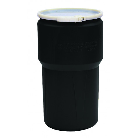 14 GAL Lab Pack (Black) w/Poly Lever-Lock Ring