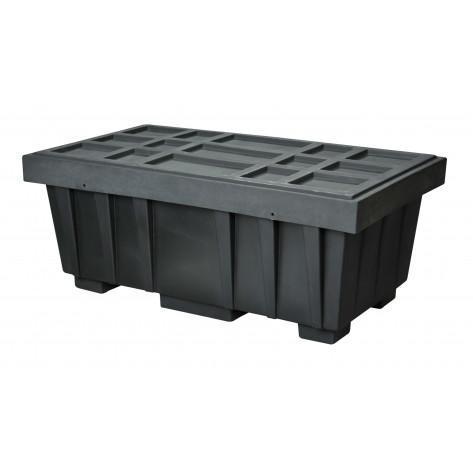 110 GAL Spill Kit Box w/lid  Black