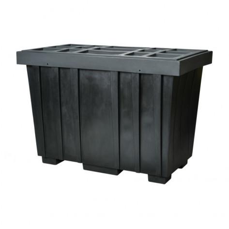 220 GAL Spill Kit Box w/lid  Black