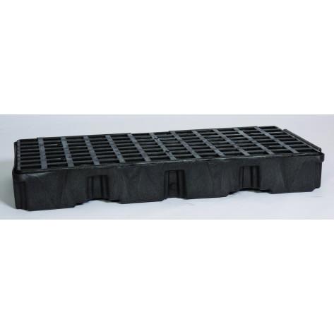 2 Drum Black Modular Platform Unit w/Drain