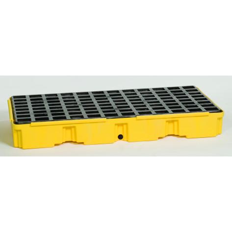 2 Drum Yellow Modular Platform Unit w/Drain