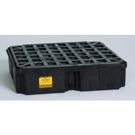 1 Drum Black Modular Platform Unit w/Drain
