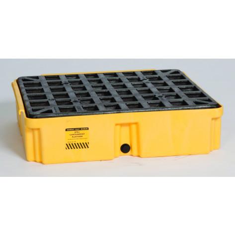 1 Drum Yellow Modular Platform Unit w/Drain