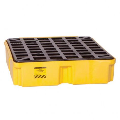 1 Drum Yellow Modular Platform Unit-No Drain