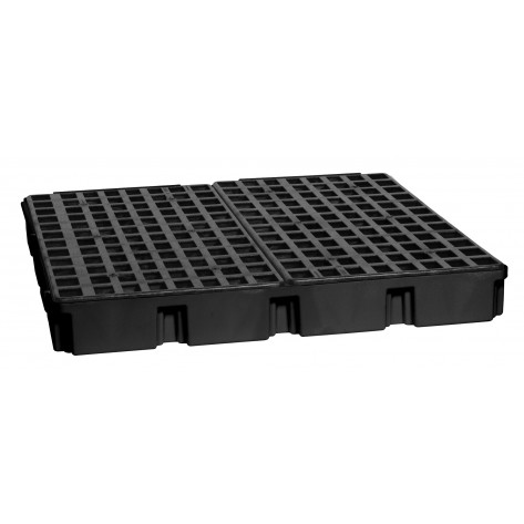 4 Drum Black Modular Platform Unit w/Drain