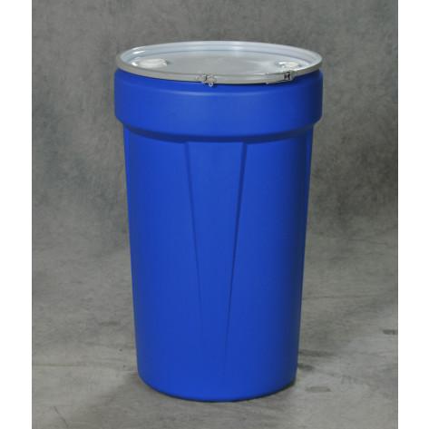55 GAL Lab Pack (Blue) w/Metal Lever Lock & Bung Lid