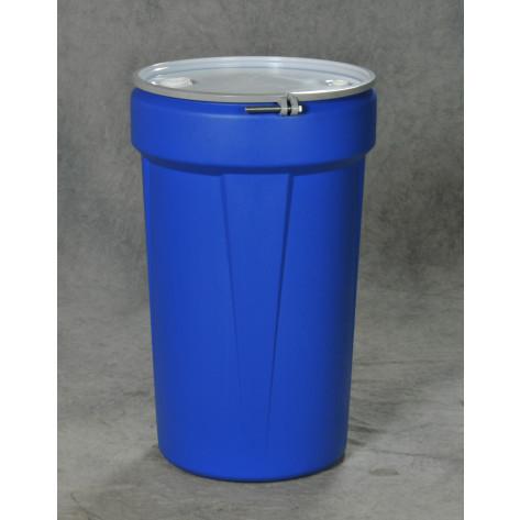 55 GAL Lab Pack (Blue) w/16 Gauge Bolt Ring