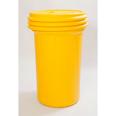 55 Gal Overpack (Yellow) w/Screw Lid