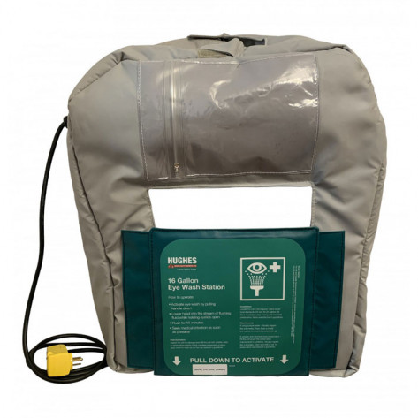 16-Gallon Gravity Fed Eyewash Heated Jacket 120V Plug