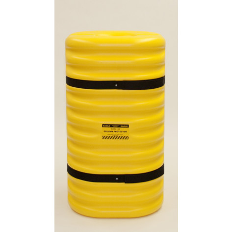 "9"" Column Protector, Yellow"