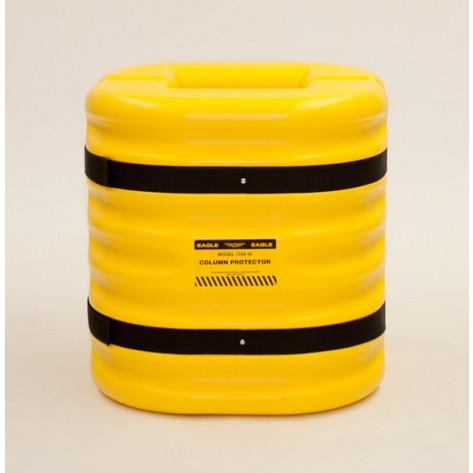 "10"" x 24""  Yellow Column Protector"