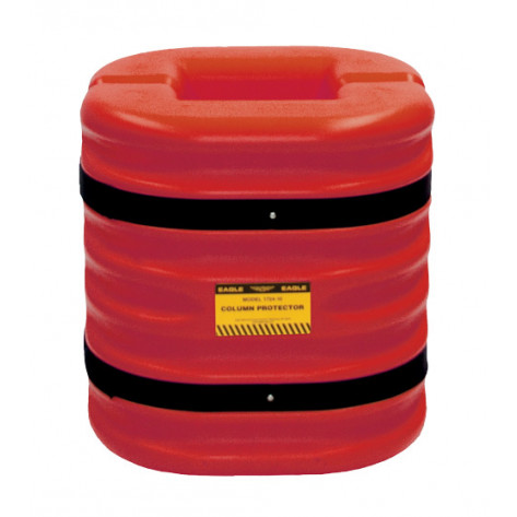 """8"""" Column Protector, 24 """" High, Red"""