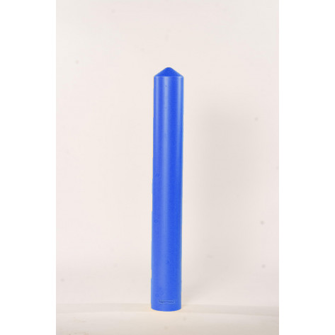 "4"" Bumper Post Sleeve-Smooth Sided-Blue"