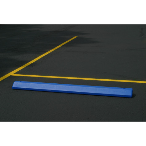 Parking Stop-Blue Polyethylene