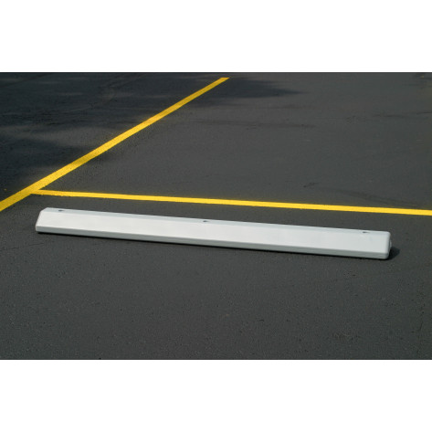 Parking Stop-Gray Polyethylene