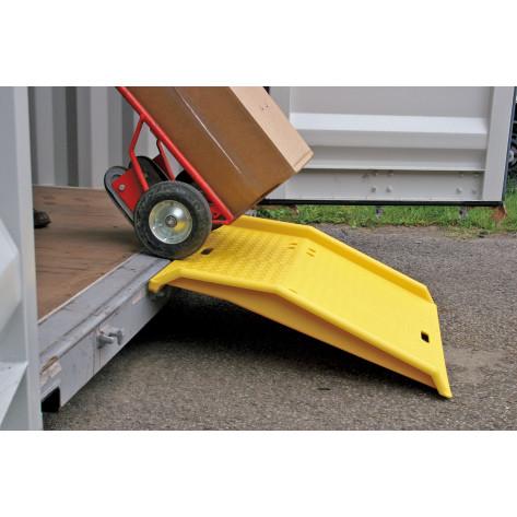 Shipping Container Ramp-Polyethylene