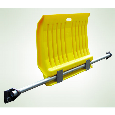 Fixed Poly Dock Plate for Hand Trucks