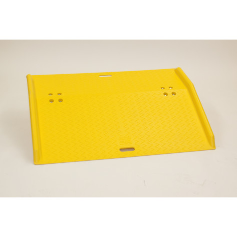 """48"""" Portable Poly Dock Plate for Hand Trucks"""