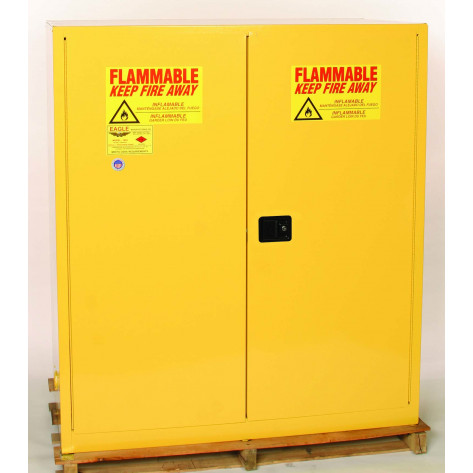 110 Gal Two Door Manual - 2 Vertical Drum