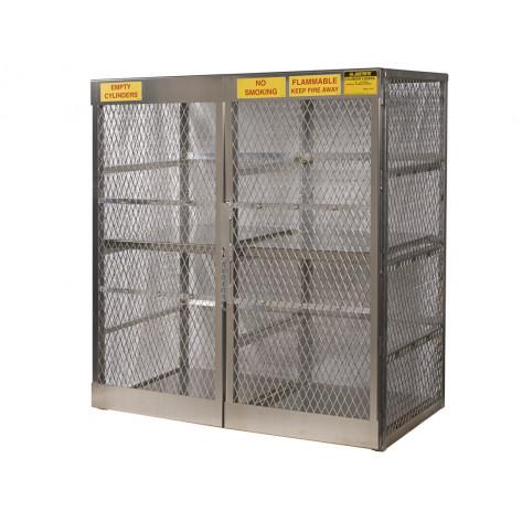 LPG 16 Cylinder Storage Locker Vertical Or 20 33-Lb Cylinders