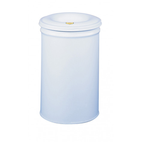 Cease-Fire   Waste Receptacle, Safety Drum Can with Steel Head, 30 gallon, Gray.