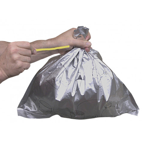 Disposable Bucket Liner for Smoker's Cease-Fire  Cigarette Butt Receptacle, 25 packs of 10 each.