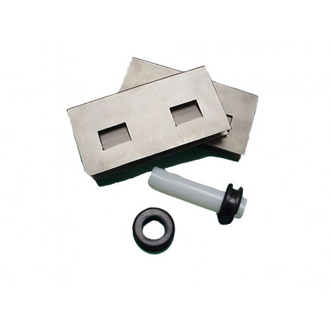 Sump-To-Sump™ Drain Kit For EcoPolyBlend™ Accumulation Centers, S/S Clips, Grommets, Transfer Tube