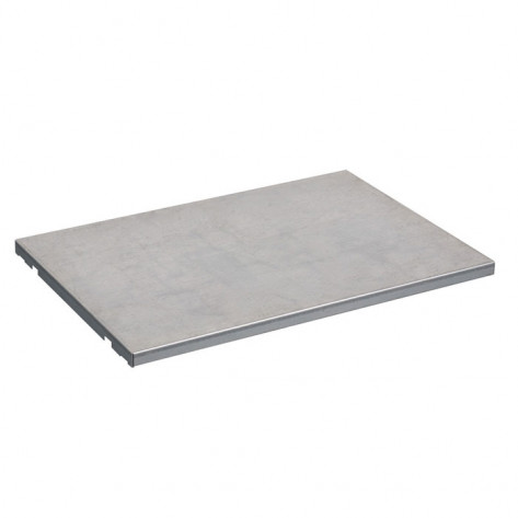 "SpillSlope Steel Shelf for 23-gallon (36""W) Under Fume Hood safety cabinet"