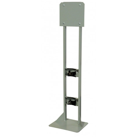Gas Cylinder Process Stand, 1 Cylinder Capacity, Steel