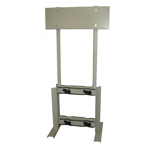 Gas Cylinder Process Stand, 4 Cylinder Capacity, Back-to-Back, Steel
