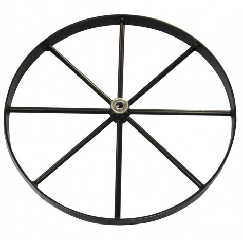 Steel Wheel for Gas Cylinder Hand Trucks, 20 Inch