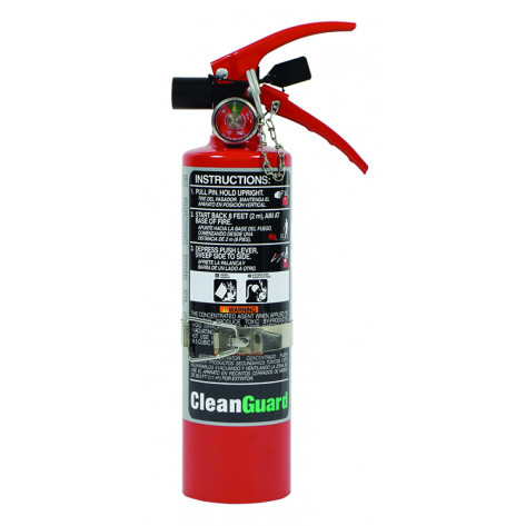 2.5 LB FE-36 CLEAN AGENT FIRE EXTINGUISHER