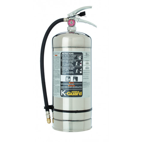 6 L K CLASS WET CHEMICAL FIRE EXTINGUISHER