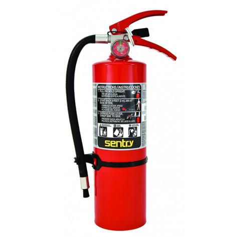5 LB ABC 3A40BC FIRE EXTINGUISHER WALL BRKT