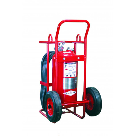125LB ABC STORED PRESSURE WHEELED FIRE EXTINGUISHER
