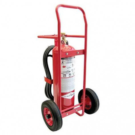50LB ABC STORED PRESSURE WHEELED FIRE EXTINGUISHER
