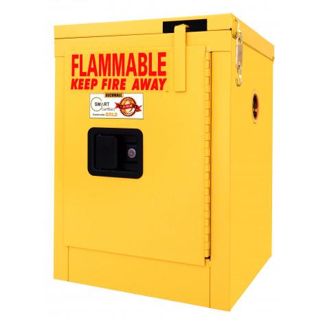 4 GAL SELF-CLOSE SELF-LATCH SAFE-T-DOOR