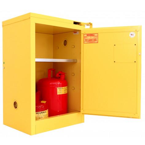 12 GAL SELF-CLOSE SELF-LATCH SAFE-T-DOOR