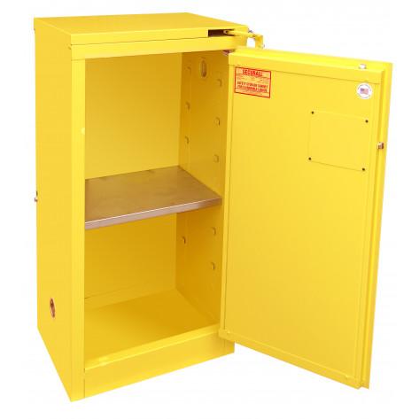 16 GAL SELF-CLOSE SELF-LATCH SAFE-T-DOOR