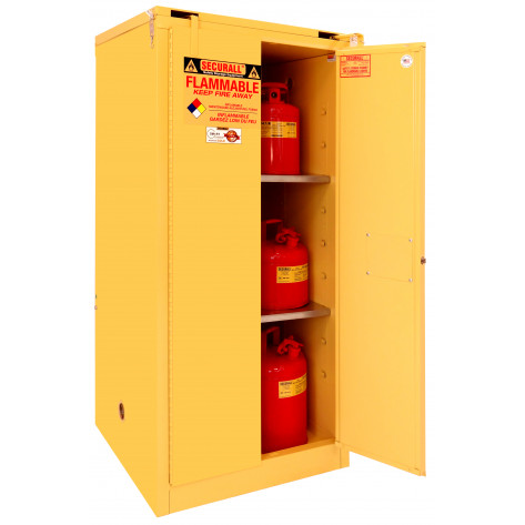 60 GAL SELF-CLOSE SELF-LATCH SAFE-T-DOOR