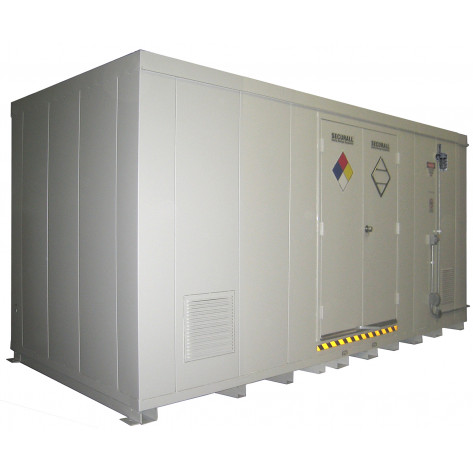 971.3 cu ft Agri-Chemical Safety Storage Building FM Approved