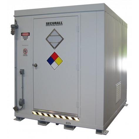 308.1  cu ft Agri-Chemical Safety Storage Locker FM Approved
