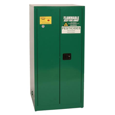 60 Gal Two Door Manual Close Two Shelves