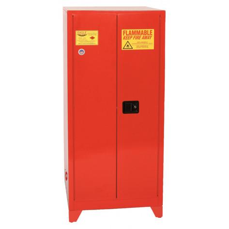 96 Gal Two Door Manual Close Five Shelves